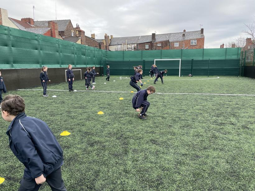 Developing our long jump technique