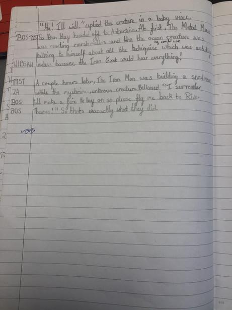 Independent Write Narrative Part 2