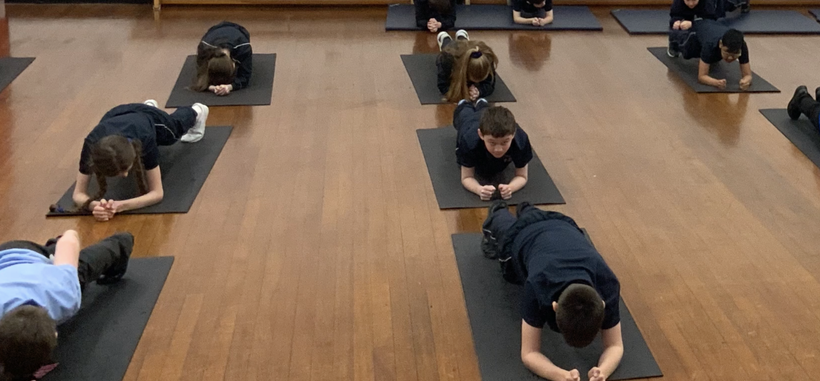 Acquiring the knowledge of different poses in yoga.