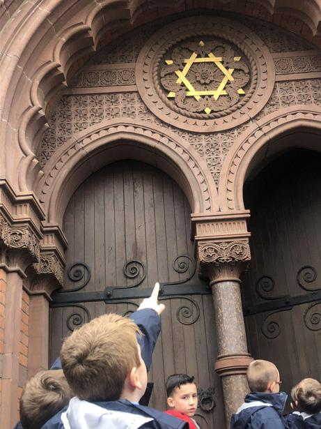 We spotted the Star of David