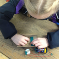 Year 4 - Making sure our torch circuits are complete