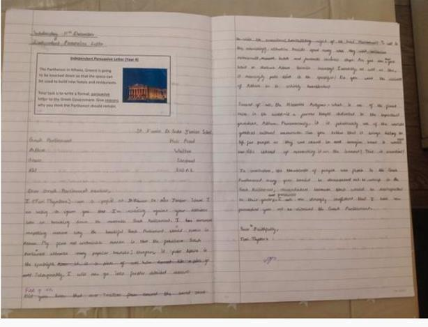 Independent Persuasive Letter Final Draft