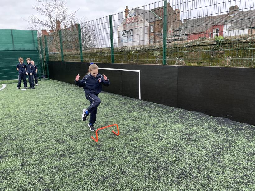 Working independently on our hurdles