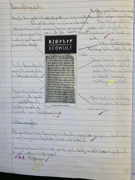 Exploring the origins of the epic poem 'Beowulf' and the main events in it