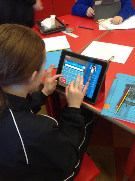 Independent practice of our times tables hotspots