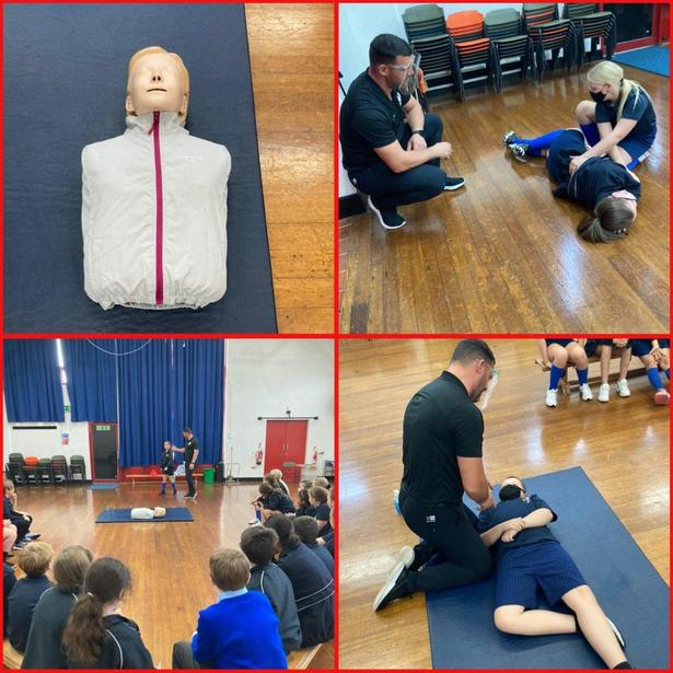 Working on our First Aid skills