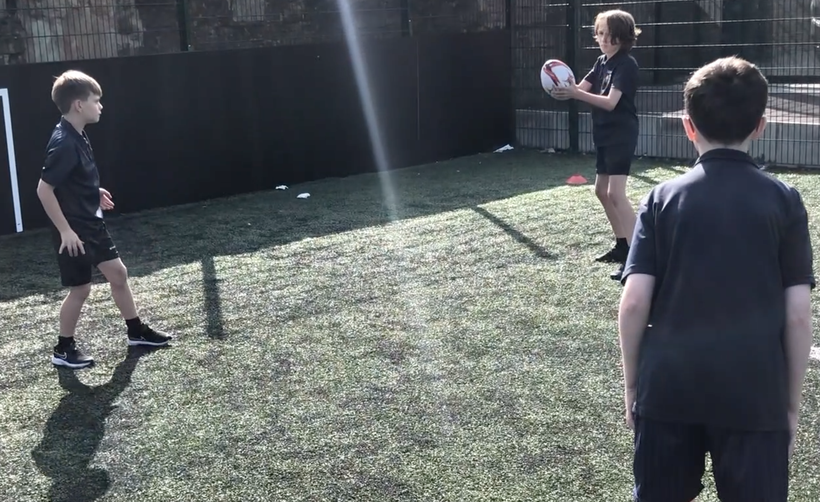 Acquiring the knowledge of passing using the correct technique.