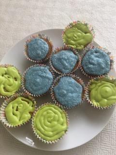Gabriel's delicious looking cakes! C8