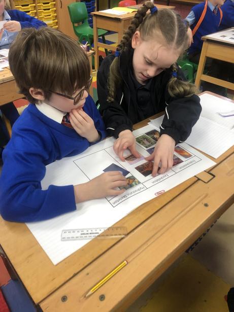 Using sorting diagrams in Science