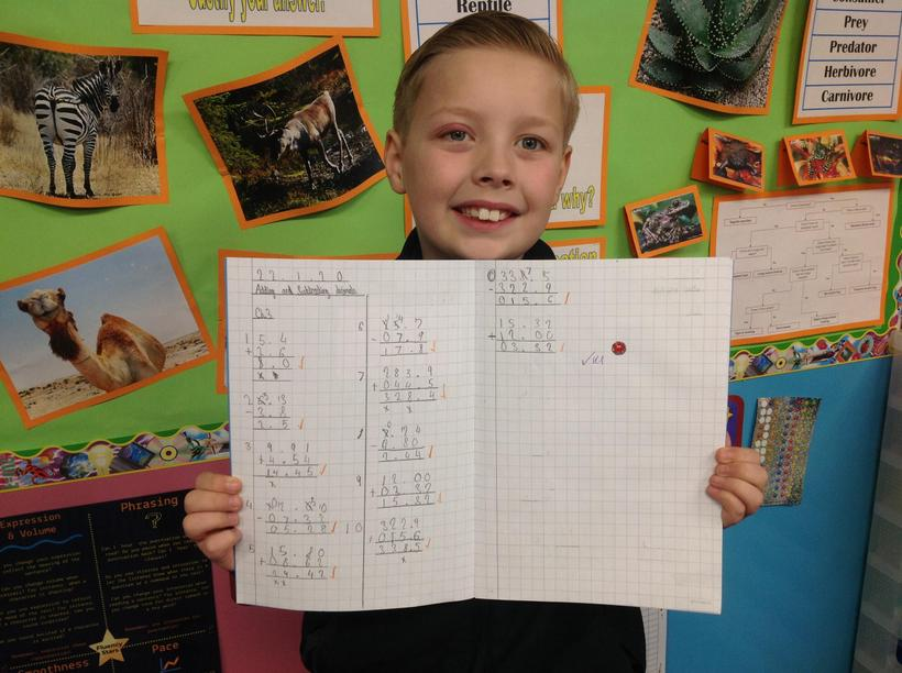 Adding and subtracting amounts of money