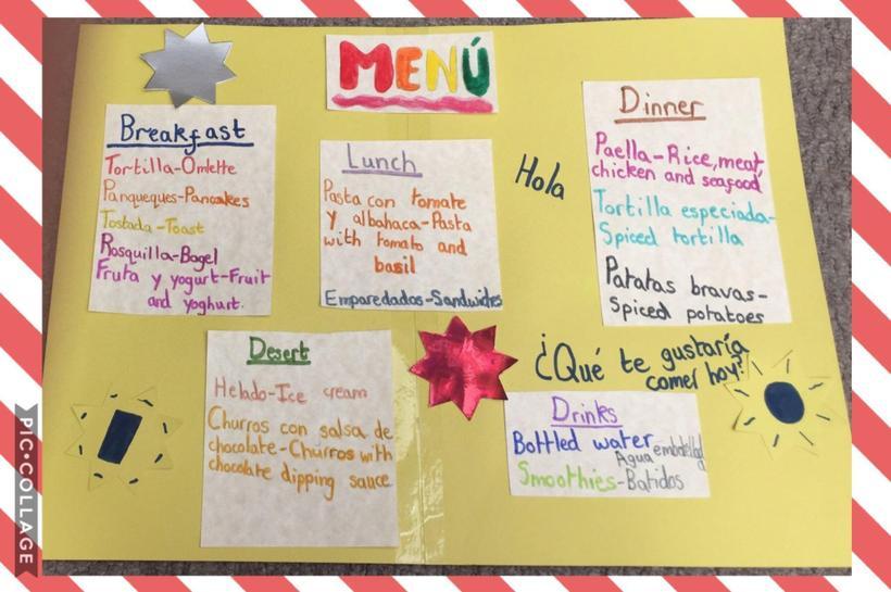 Marvelous, mouth-watering menus - Menús maravillosos y deliciosos