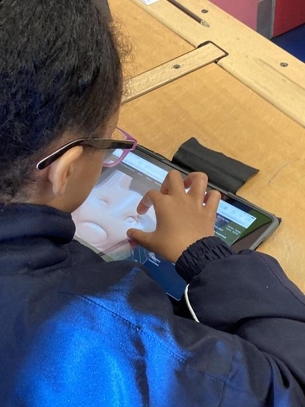 Using an iPad to create digital art