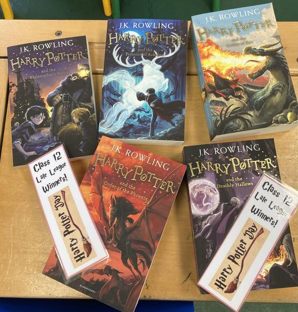 C12's 'Late League' winning budget was spent on 'Harry Potter' books