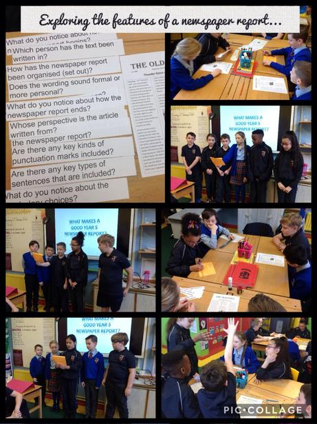 Using ambitious vocabulary and sentence structures