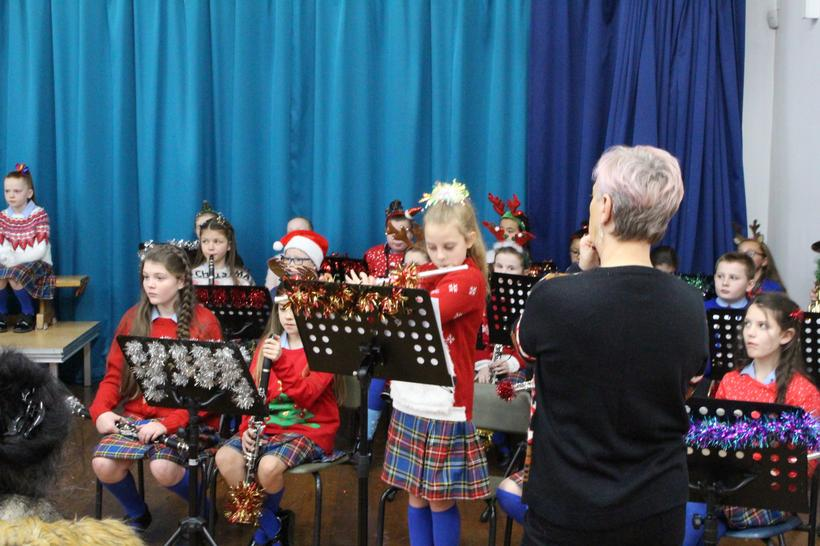Y6 pupils performing in our Christmas Concert