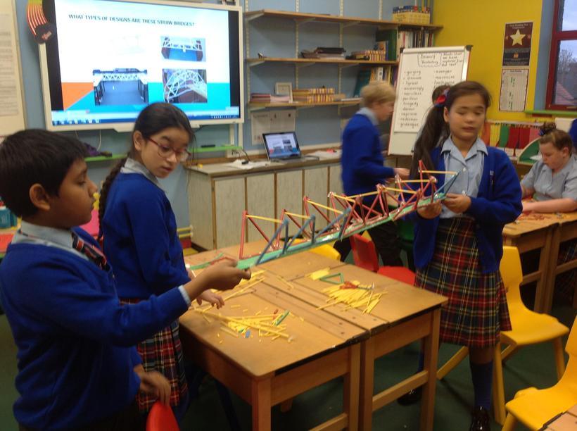 Creating a bridge that follows the Truss design