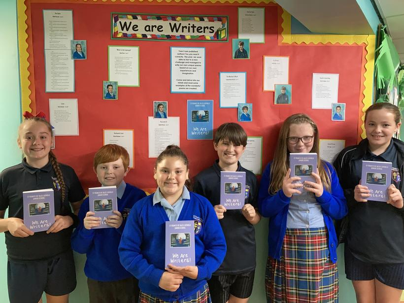 Proudly showcasing our latest 'We Are Writers' book!