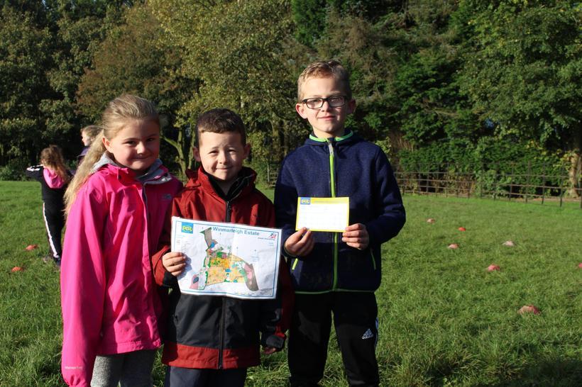 Using coordinates during orienteering