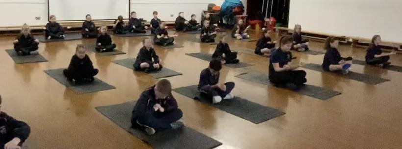 Working on developing meditation.