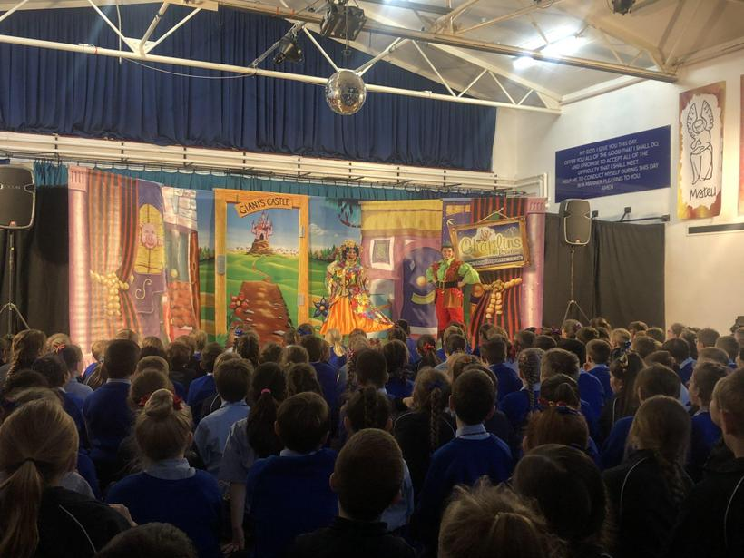 Did lower school enjoy the panto? Oh yes they did!
