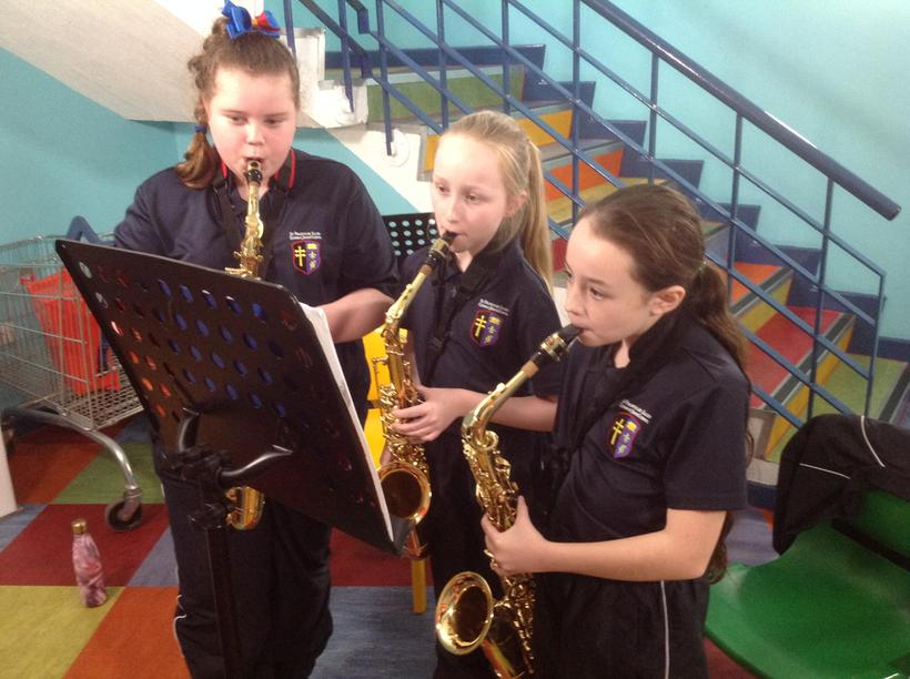 Choosing to have extra Music lessons