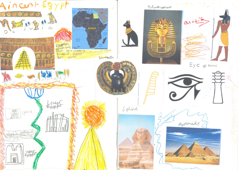Our Ancient Egypt topic page