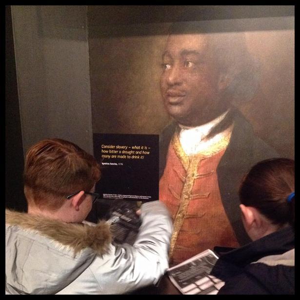Reading testimonies of Equiano
