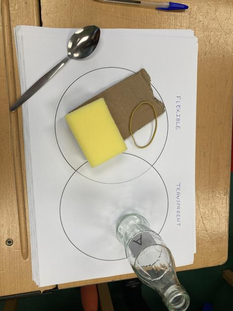 Comparing and Grouping Materials