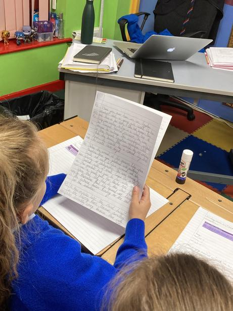 Analysing an example Adventure Story