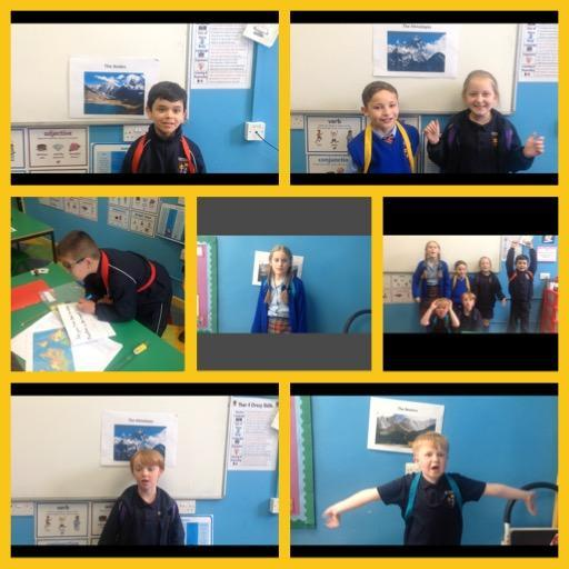 Presenting our research findings