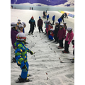 Lessons at the Chill Factore - ready for the trip