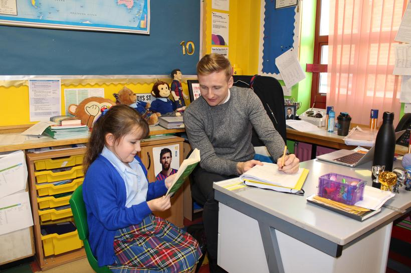 Pupil Reads Session