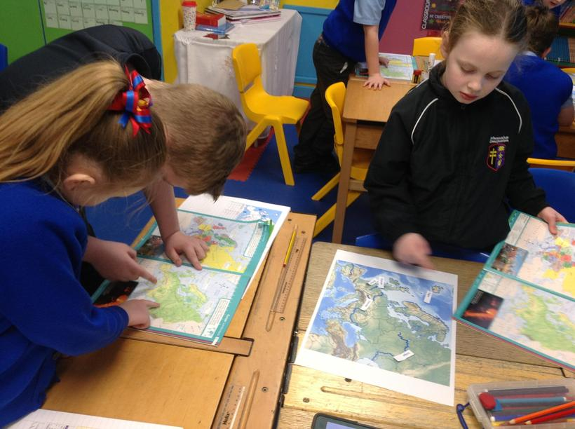 Using their independence to locate mountains