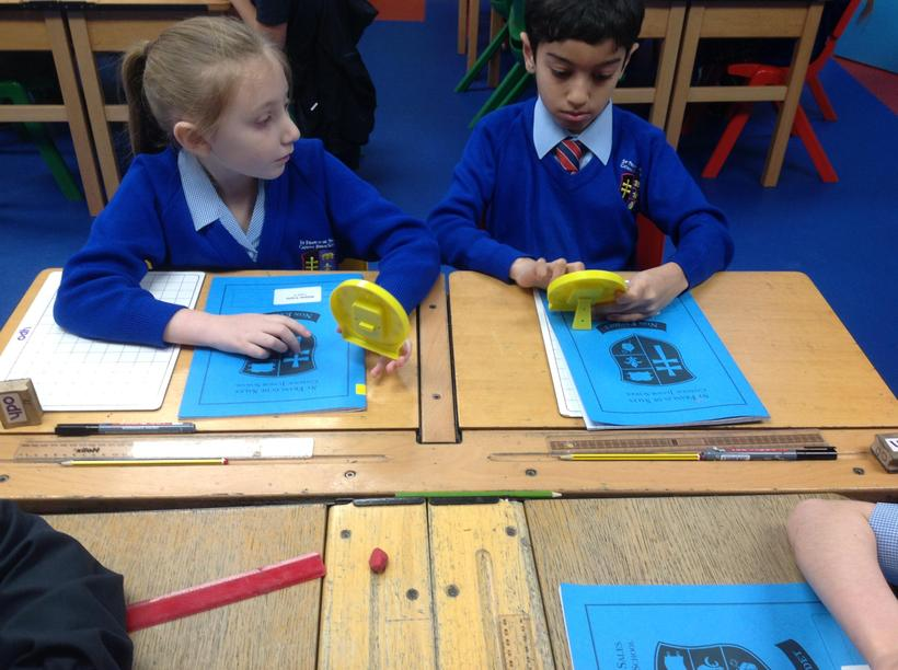 Using our independent time skills!