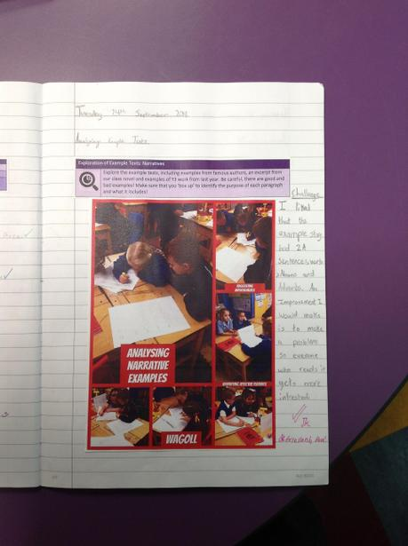 Analysing examples of Narrative Stories.