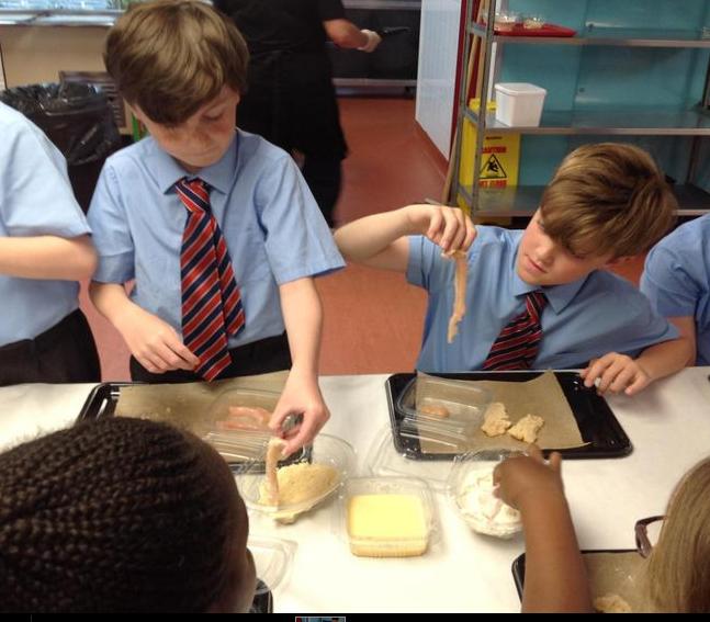 Breading our chosen protein