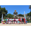 Barcelona - the gardens.