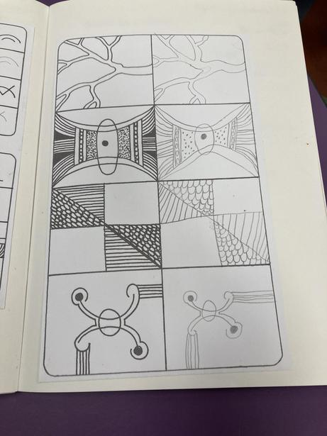 Using shapes & lines to draw in Art