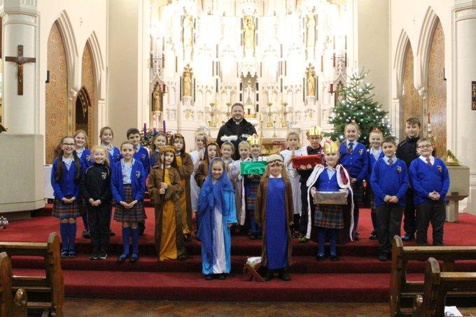 A wonderful nativity hosted by Father Ged