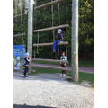 Y4 PGL - The high ropes. Don't look down!
