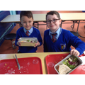 Year 4 - Making our Greek salads