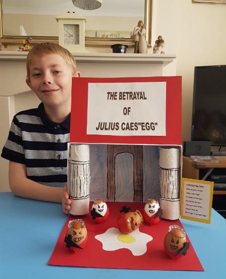 Daniel C - The Betrayal of Julius Caes'egg'