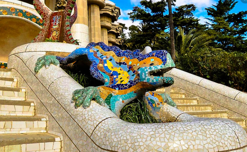 Gaudi's Famous Lizard: Parc Güell
