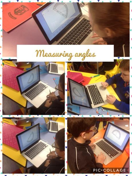 Learning to measure angles