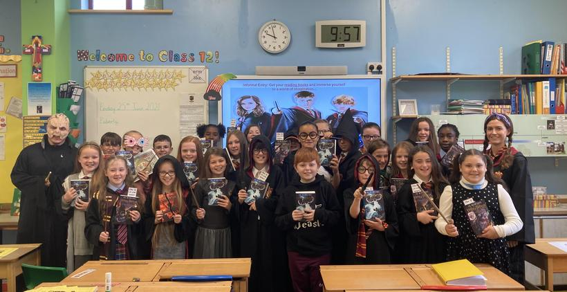 Class 12 on 'Harry Potter Day'