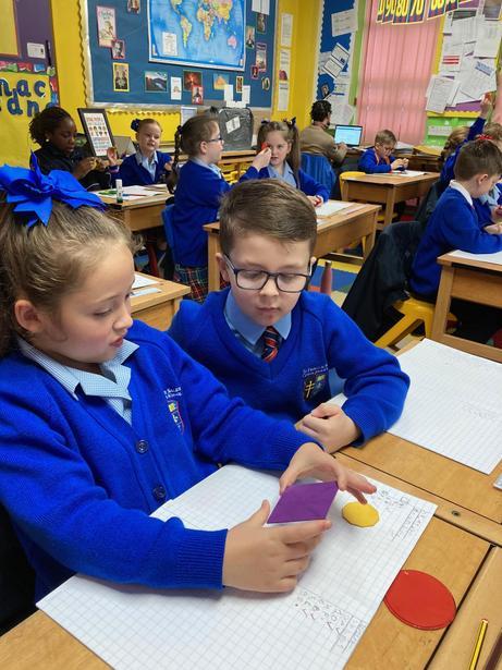 Describing the properties of 2d shapes