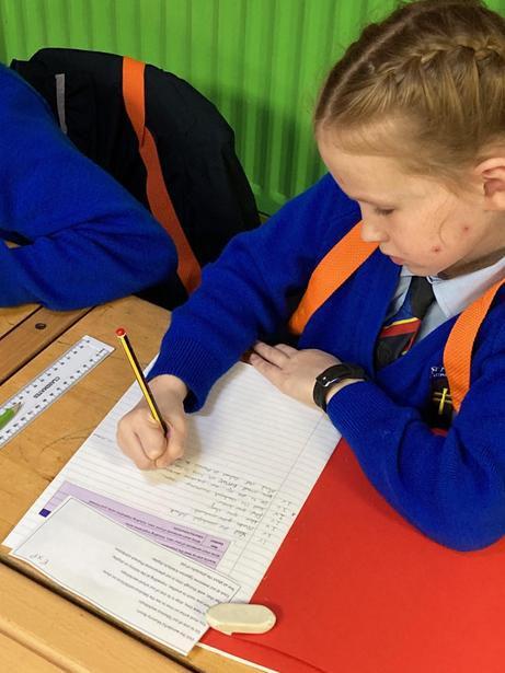Writing alliterative sentences to persuade