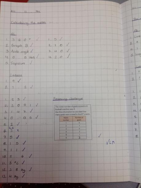 Learning how to calculate the mean