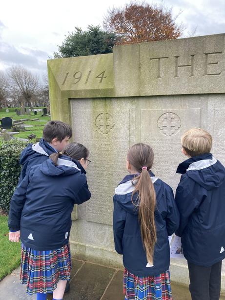 Exploring the Memorial Site