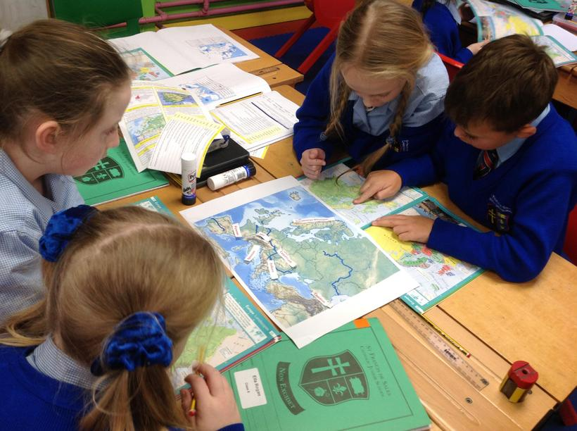 Working together to locate Europe